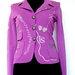 Violetinis švarkas