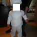 krikstynoms kostiumas
