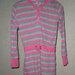 Dryžuotas rožinis megztinis/tunika