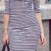 Zara dryžuota suknelė