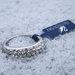 Originalus Swarovski žiedas