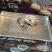 18 karatų pildytas auksu žiedas su cirkoniu.