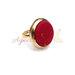 Burgundinis žiedas