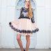 Juoda Smėlio spalvos suknelė išleistuvėms