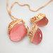 18k aukso Versace stiliaus pakabukas su auskarais