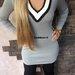 nauja pilka Gucci stiliaus suknele
