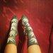 Pilkos huf kojinytės