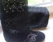 juodi nerti batai