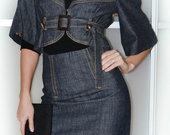 KLS džinsinis kostiumėlis