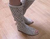 Stilingi moteriški perforuoti bateliai Chanel