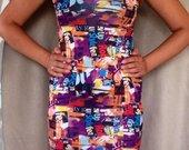 Klasikinio tipo nauja suknele iki keliu