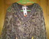 Nauja sifonine suknute leopardo rasto