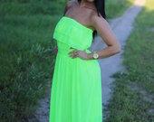 salotine ilga suknele