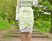 Nėriniuota suknelė ilgesnė