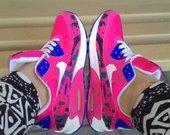 nike Air Max margai rožiniai