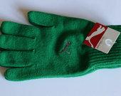 Žalios spalvos Puma pirštinės M/L dydis