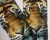 3D kojines tigrai NEW mmmm