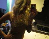 New Look suknele auksine