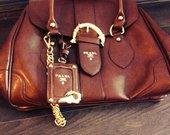 naujas Prada rudas rankinukas