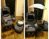 vokiškas vežimėlis 2 in 1 Knorr Baby NoxXter