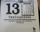 kalendoriaus lapeliai