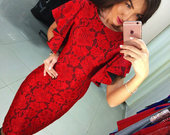 Graži stilinga suknelė