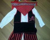 Karnavalinis pirato kostiumas