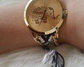 laikrodis naujas su drambliuku