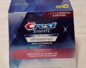 Crest 3D White Glamorous White juosteles