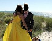 Progines geltonos sukneles