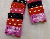 Naujų kojinių rinkinys mergaitei