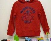 Naujas pašiltintas megztinis su gobtuvu berniukui