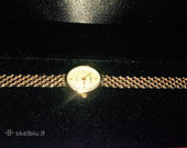 Prabangus auksinis Geneve laikrodis