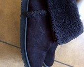 Zieminiai batai, patogus, tvarkingi, rudi ir silti