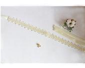 Vestuvinis dirželis, diržas siuvinėtas karoliukais