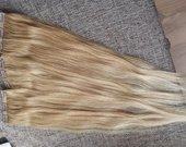 naturalus plaukai dalimis