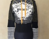 Originalus itališkas džemperis su kapišonu