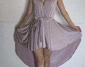 Nauja, pilko kakavos atspalvio proginė suknelė
