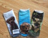 Kojinės su šuniukais