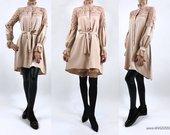 """Marškinių tipo suknelė tunika """"NUDE LANA"""""""