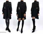 """Marškinių tipo suknelė tunika """"BLACK LANA"""""""
