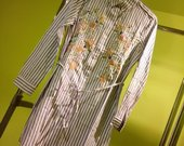 Dryžuoti ilgi marškinėliai