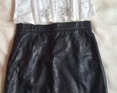 Naturalios odos mini sijonas XS-S d.