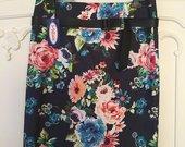 Naujas tamprus gėlėtas sijonas