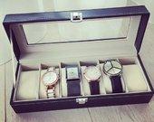 Nauja 6 laikrodžių dėžutė