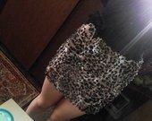 Leopardinis sijonukas