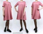 "Varpelio silueto suknelė ""ROSE IZA"""