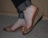 Smagios odinės basutės 40 dydis