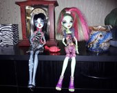 Monster High leles; Persefone ir Venus. 5.50eur.