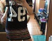 T-shirt tipo suknelė